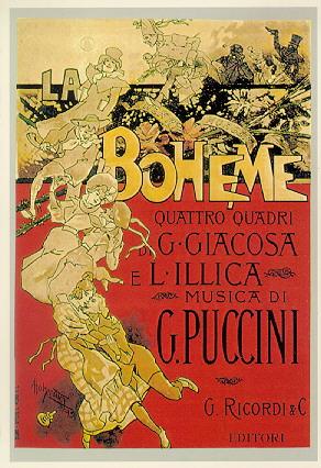 La Boheme Original Poster