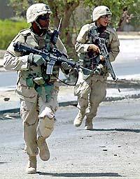 u.s. troops